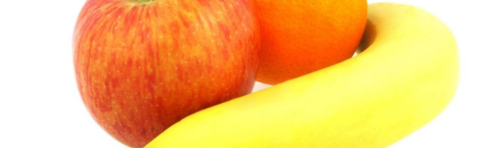 Wykorzystaj banana lub pomarańcze