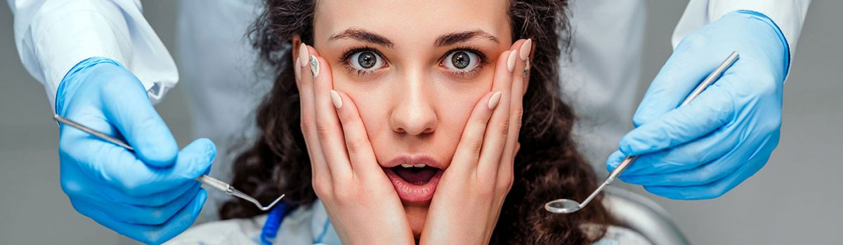strach przed dentystą obraz